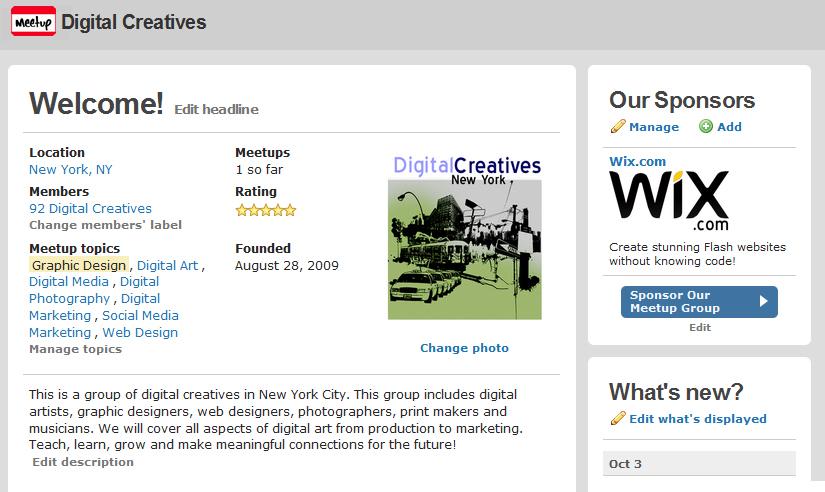 http://www.meetup.com/digitalcreatives