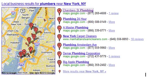 Local Search Results for Plumbers