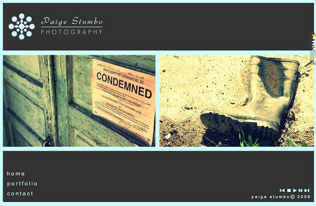 Paige Stumbo Photography Website