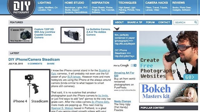 6 Must Have Online Photography Tools  DIY Photography