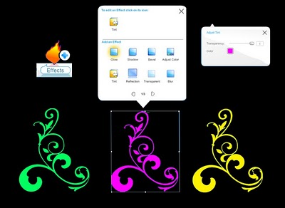 Wix Editor tint