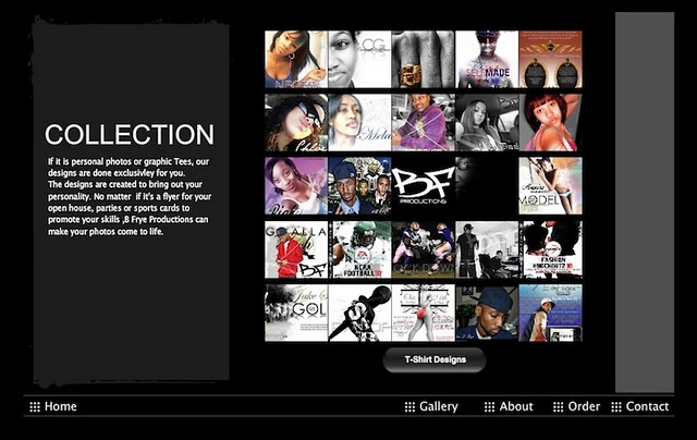 BFrye Productions' Website was created using a Wix.com Flash Template