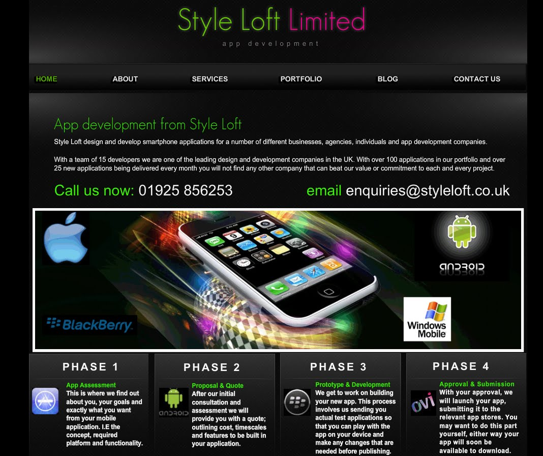 Wix Website Reviews: Style Loft 2