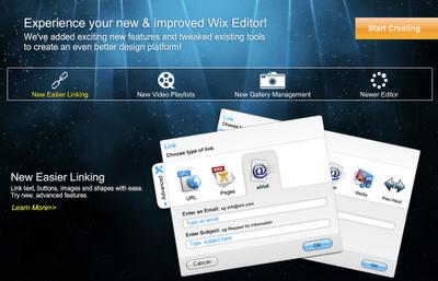 The New Wix Website Builder