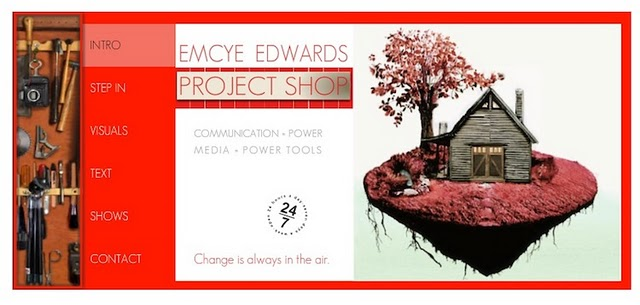 Emcye Edwards website was created with a Wix.com Flash template