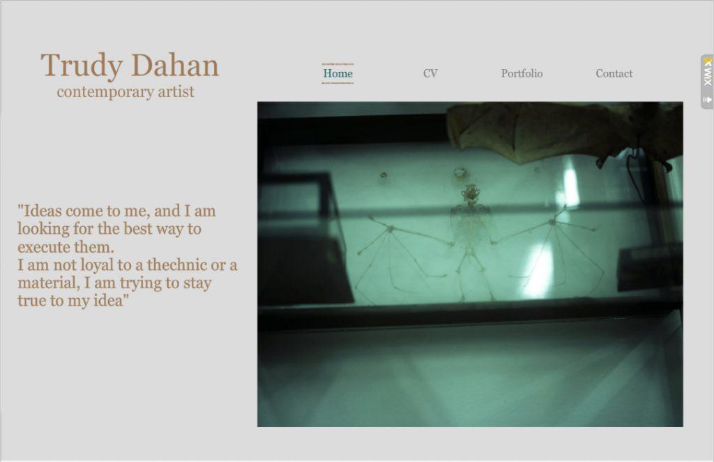 Trudy Dahan Art Portfolio