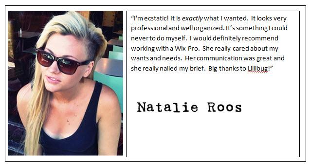 Natalie Roos - Testimonial
