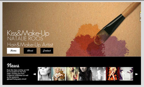 Natalie's Site Before the Makeover