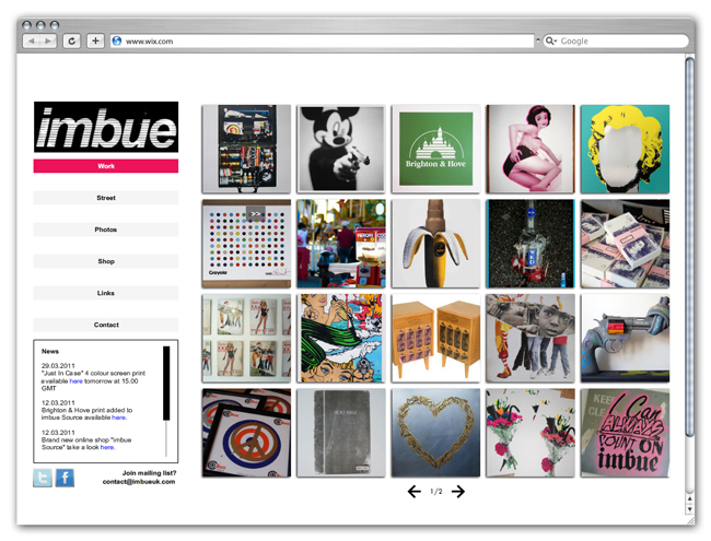 Wix Website Review IMBUE