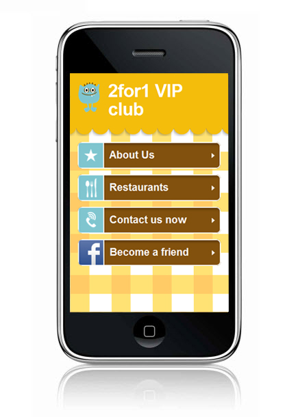 2for1 VIP club