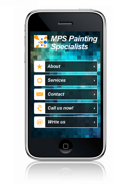 Wix Mobile Showcase MPS Painting Specialists