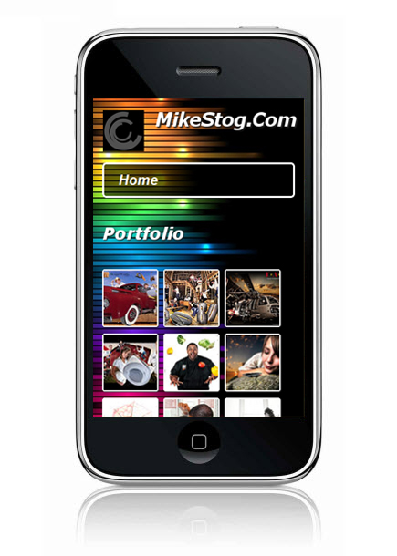 Wix Mobile Showcase MikeStog.Com