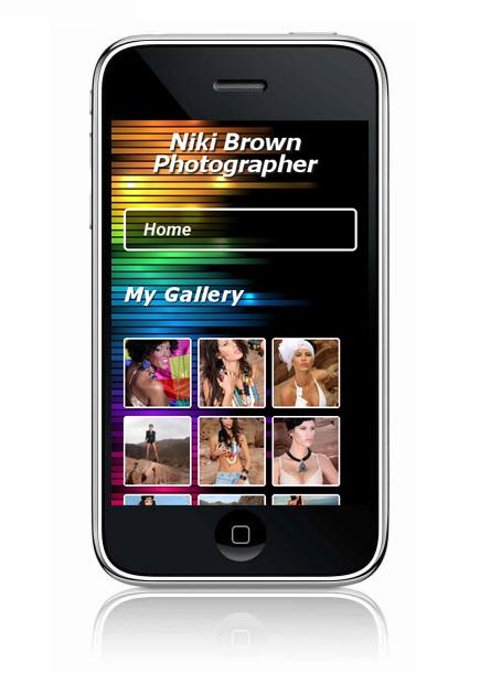 Wix Mobile Showcase Niki Brown Photographer