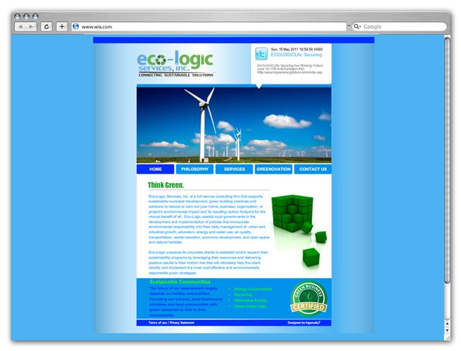 Wix Websites Going Green