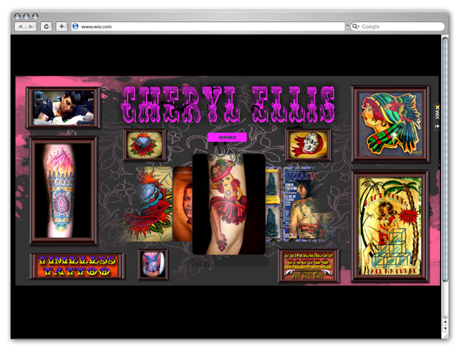 Wix Website Showcase: Tattoo Artists