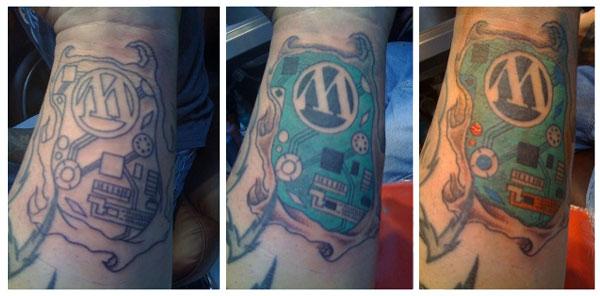 Wordpress Tattoo