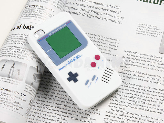 White Gameboy