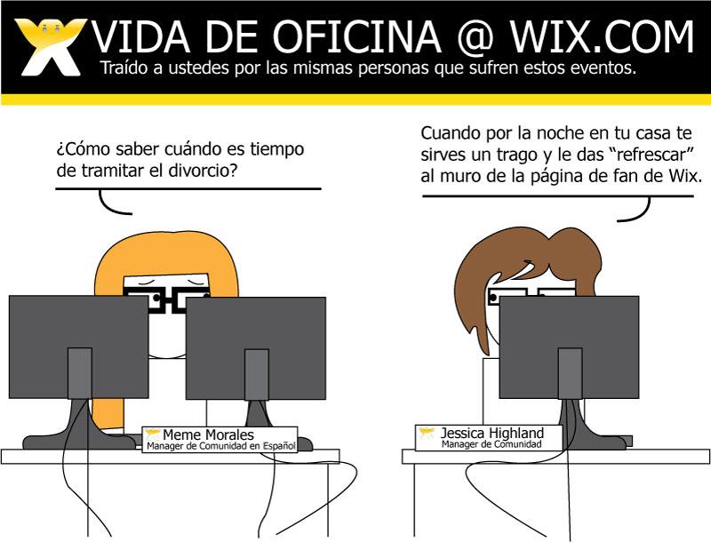 La vida en Wix.com!