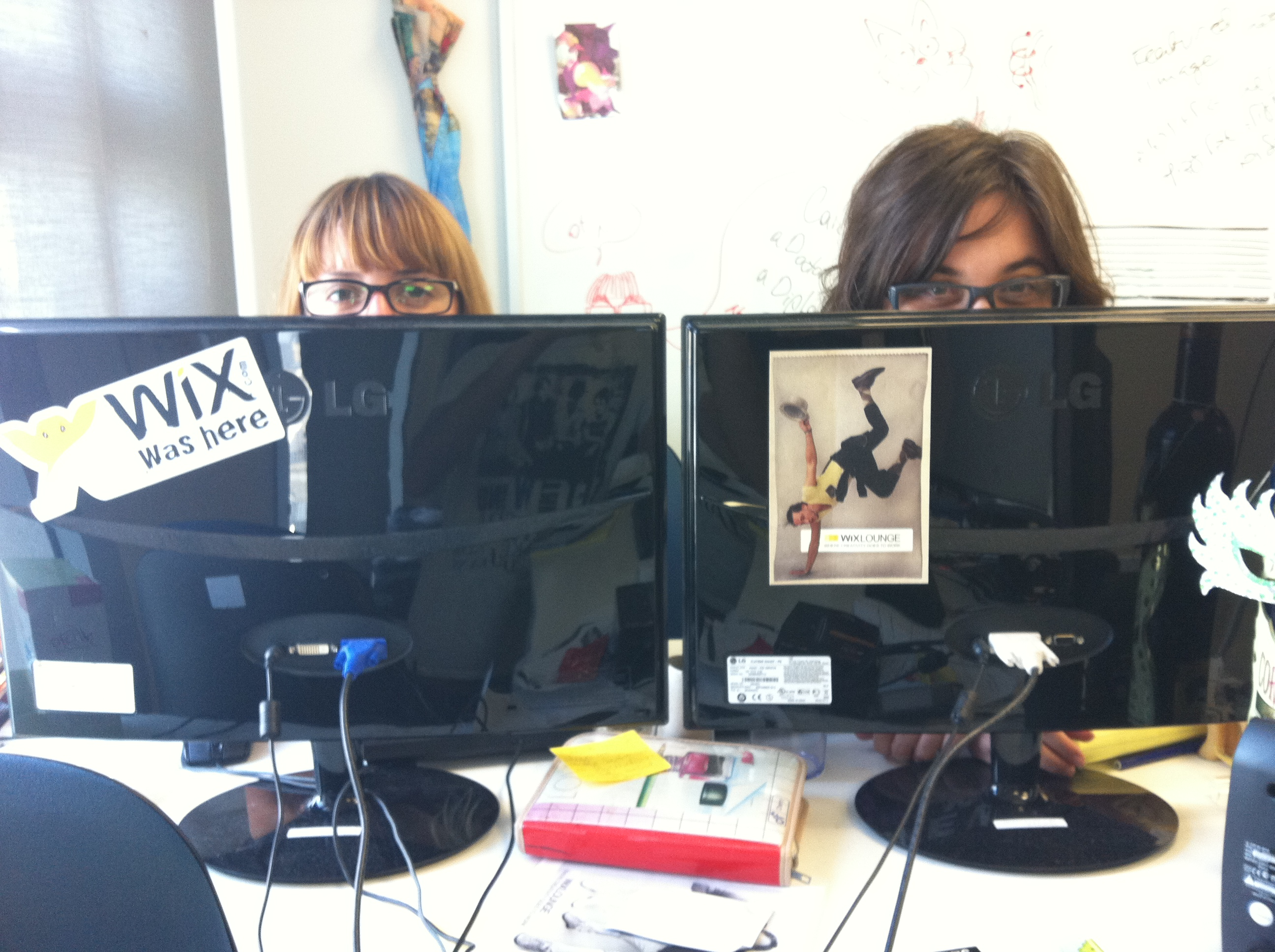Just another day at Wix.com