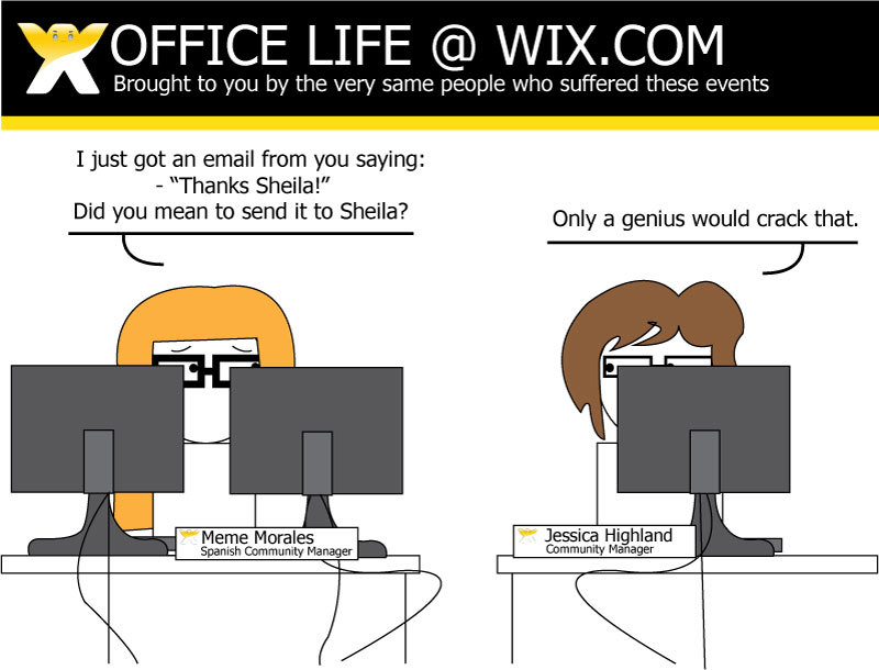 New Comic Strip about Life @ Wix