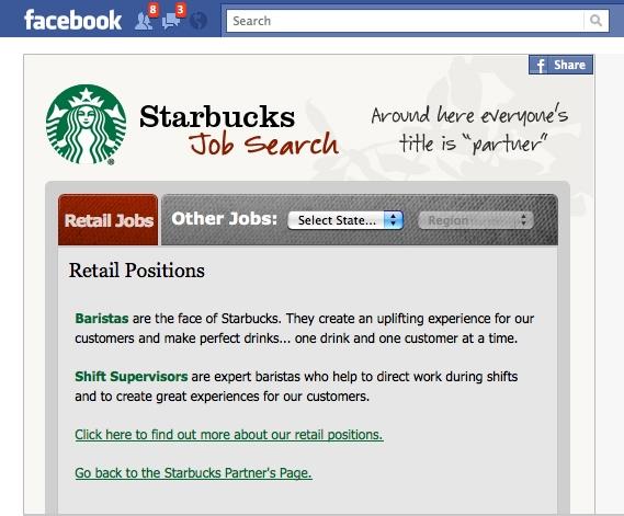 Job hunt on social networks