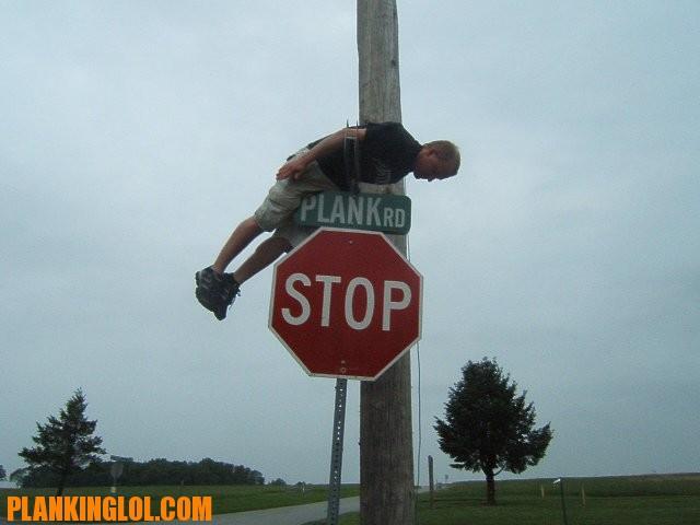 Planking en el poste
