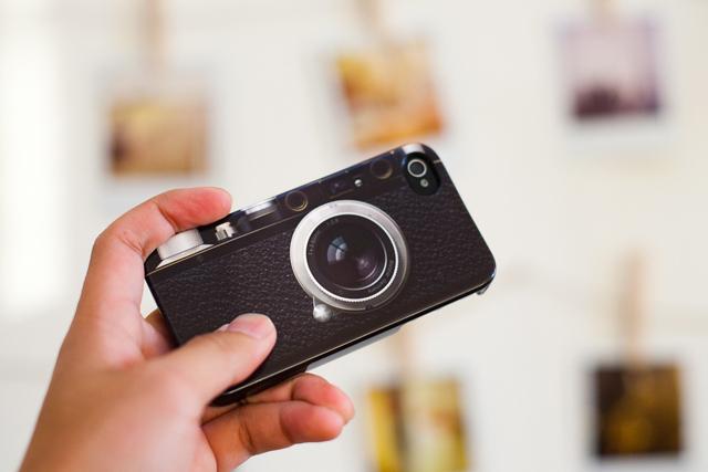 Cubierta cámara retro