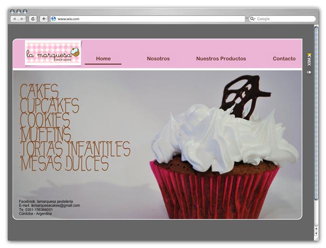 La Marquesa Cakes Site