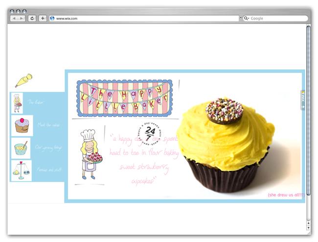 The Happy Little Baker Site