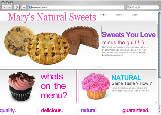 Own it! Marys Natural Sweets