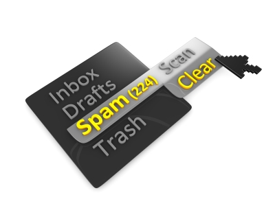 Limpia el mail basura
