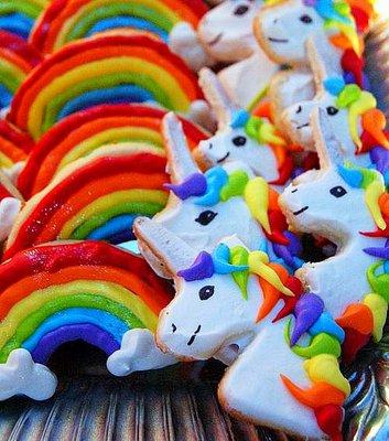 Unicornios arcoiris