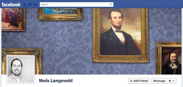 Niels Langeveld Facebook Timeline Design