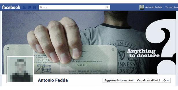 Antonio Fadda Facebook Timeline Design