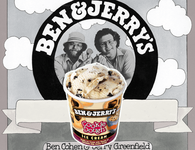 Ben & Jerry's Ice Cream & Chocolate-Chip Cookie Dough