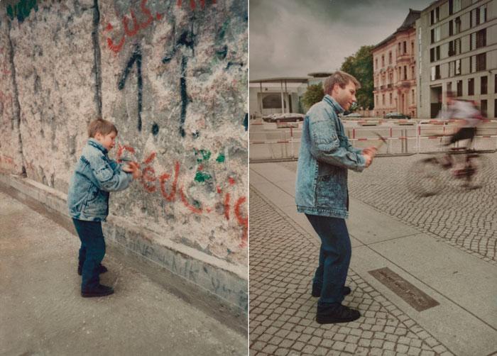Christoph 1990 & 2011 Berlin Wall