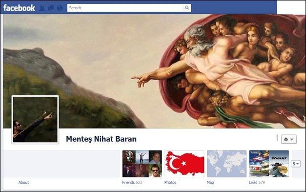 Mentes Nihat Baran FB Timeline design