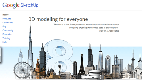 20 cool things google can do for you part 2 for Google sketchup converter