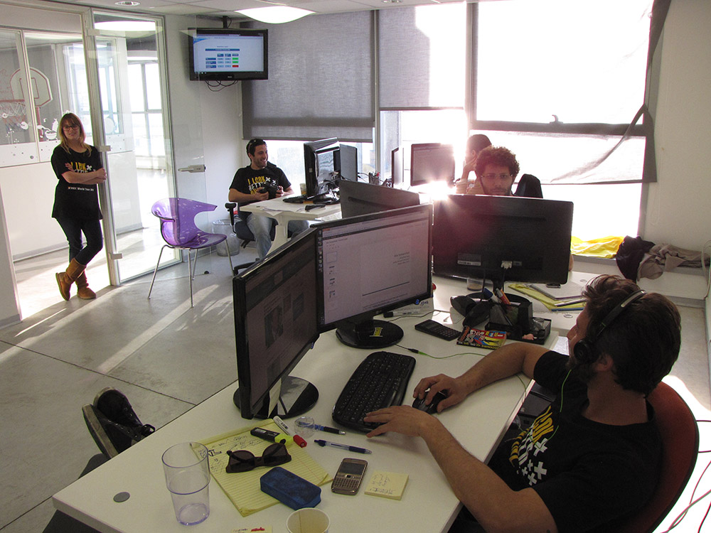 Wix Office in TLV