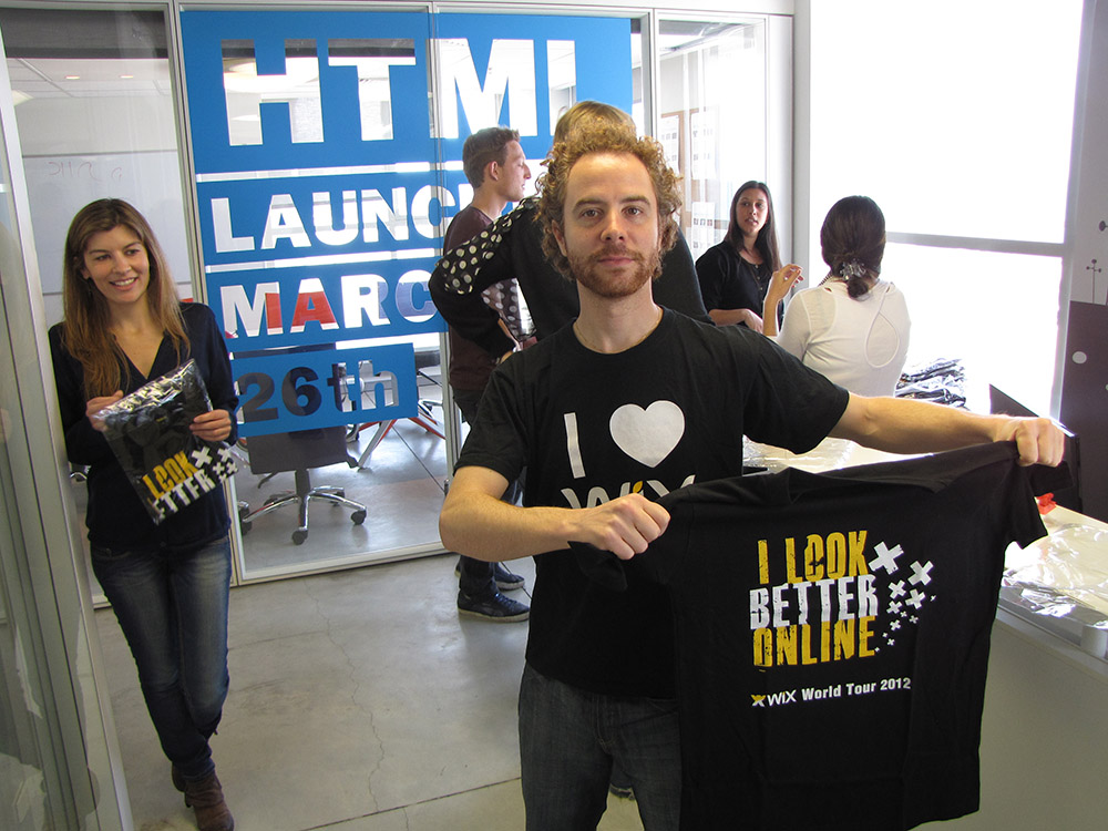 HTML5 now on Wix T shirt