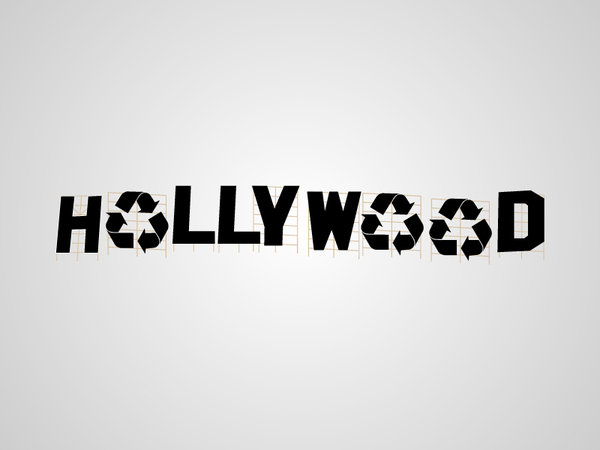 Hollywood logo parody