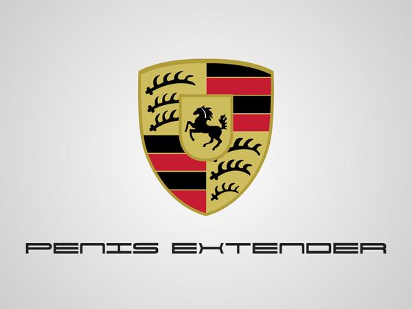 Porsche logo parody