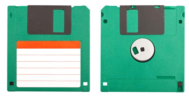 Ancient technology Floppy Discs