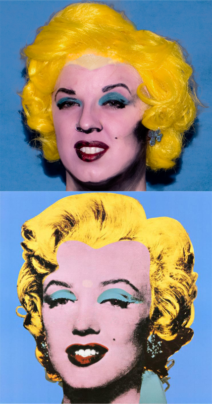 "Andy Warhol, ""Shot Blue Marilyn,1964"" By Kristi Siedow Thompson"