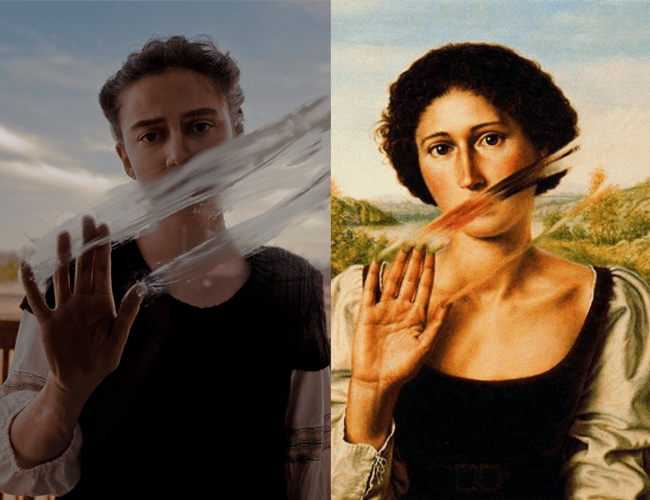 """Dino Valls, """"Tacere, 1992"""" Remake By Abi Warix"""