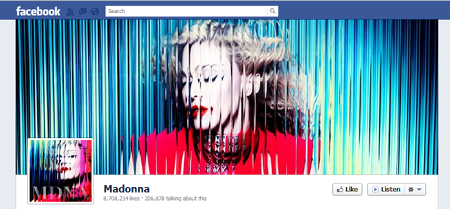 Madonna FB cover