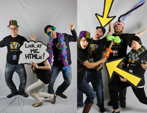 HTMLin' in SF Photo Booth