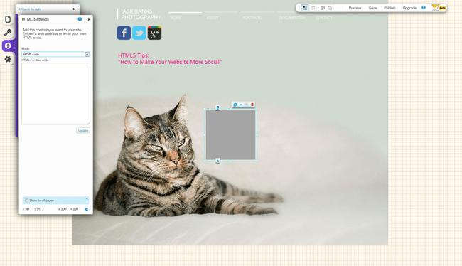 HTML Add-On