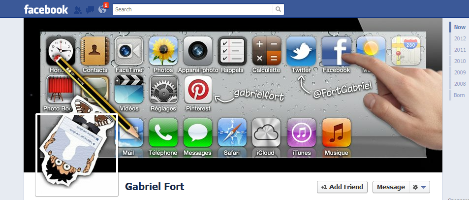 Gabriel Fort facebook cover photo