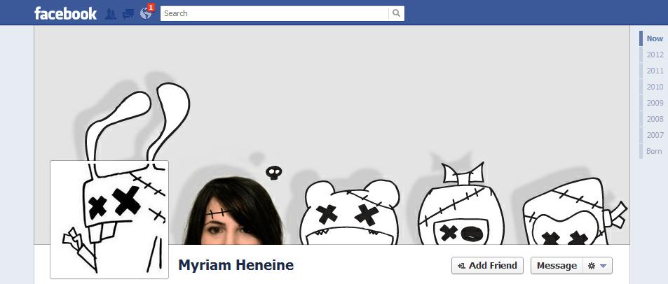 Myriam Heneine facebook cover photo